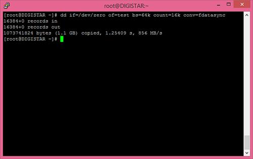 Tốc độ Cloud Server DigiStar