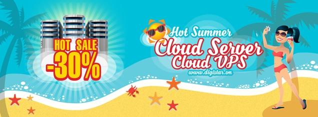 Cloud server và cloud vps